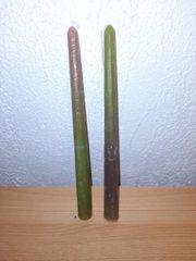 Handgefertigte Tafelkerzen 2er Set