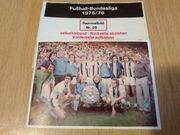 Bundesliga Sticker Saison 1975 76