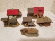 Faller landwirtschaftliche Häuser 60er Jahre