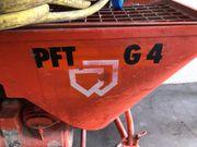 Verputzmaschine PFT G4 Putzmaschine Knauf