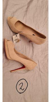 10 Paar High heels Keilpumps