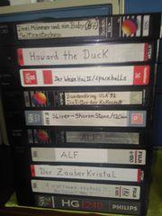 VHS Kassetten 49 Videocassette leer