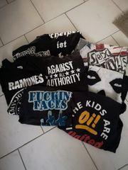 Punkrock Klamotten Sammlung
