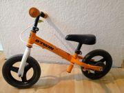 Laufrad 10 Zoll orange weiß