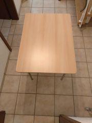 Tisch Buchenfurnier gebraucht Maße H71