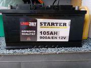 Autobatterie 105 Ah