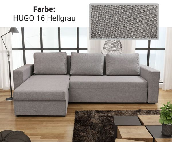 Ecksofa COMO mit Schlaffunktion - Sofa