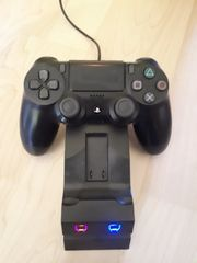 Playstation Controller wireless und Ladegerät