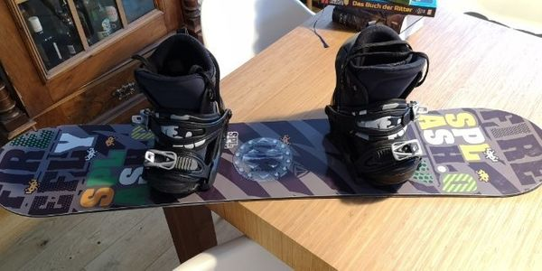 Kindersnowboard 115cm Firefly mit Boots