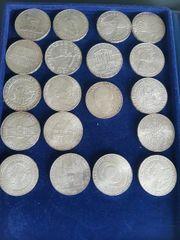 Silber Münze Schilling 50 und
