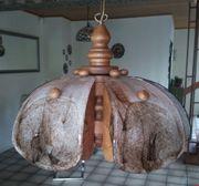 Wohnzimmerlampe Eiche massiv