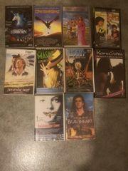 verschiedene VHS Filme