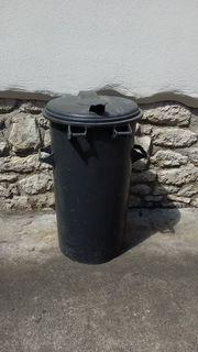 Tonne Mülltonne rund auch als