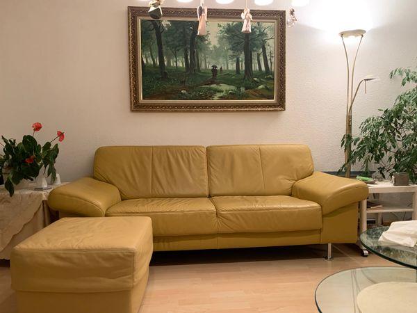 Sofa Couch aus Leder