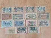 Geld Geldscheine Geldnote Banknote Scheine