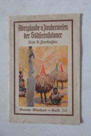 Bunte Bücher Südsee um 1932