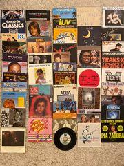 Schallplatten Singles über 40 Stück