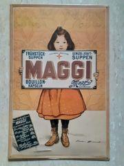 Blechschild Maggi