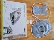 Alpha Bouncer Babywippe und Stuhlaufsatz
