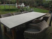 Gartengarnitur OVP Tisch 6 Stühle