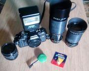 analoge Minolta Spiegelreflexkamera