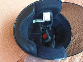 Motorrad-Helme, Protektoren - Motorad Roller Helm in Weinrot