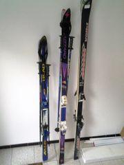 3 Paar Ski zu verschenken