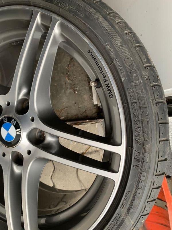 Original BMW Felgen mit Sommerreifen