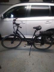 E-Bike Damen Fahrrad defekt