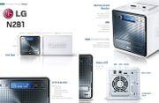LG N2R1DB2 NAS-System mit Festplatten