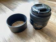Nikon Nikkor 85 mm 1