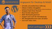 Webseite WordPress 5 Seiten Wunschgestaltung
