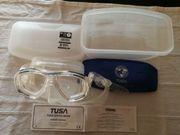 Tauchbrille Tusa M-28 2 Dioptrin