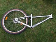 Fahrradrahmen MTB Alu nur 1