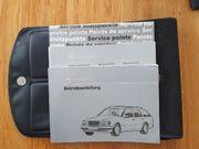 Mercedes-Benz Bordmappe W124 - TE