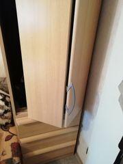 Hoher Kleiderschrank Buche 50cm breit
