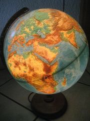 Paul Oestergaard Vintage Globus Leuchtglobus