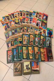 60 verschiedene Karl May Bücher