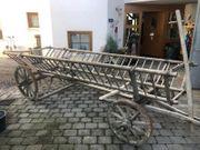 Holzleiterwagen