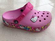 Kids Crocs Hello Kitty mit