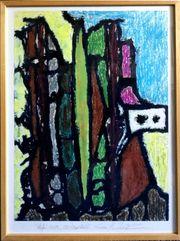Original-Gemälde RAINER WIECZOREK 1956 Berlin