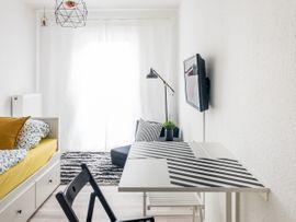 Vermietung 1-Zimmer-Wohnungen - Schöne möblierte Wohnung nähe Bahnhof