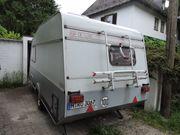 Wohnwagen KIP 40EK komplett eingerichtet
