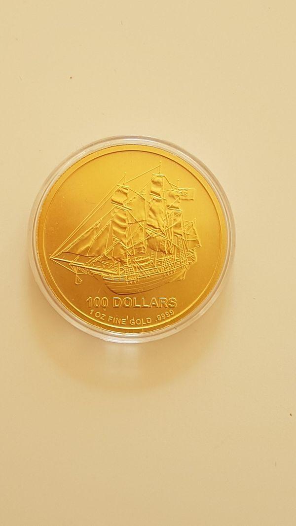 Goldmünze 1 oz Cook Islands