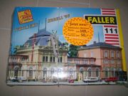 Faller 111 HO Bausatz Bahnhof