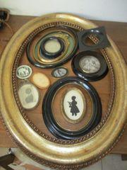 Alte Ovale und Runde Rahmen