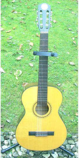 Verkaufe schöne 3 4 Konzertgitarre: Kleinanzeigen aus Schotten - Rubrik Gitarren/-zubehör