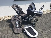 ABC-Design Zoom Geschwister- Zwillingskinderwagen
