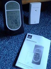 digitale Wetterstation mit Außenfunksensor
