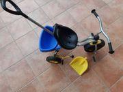 Puky Dreirad mit Schiebestange und
